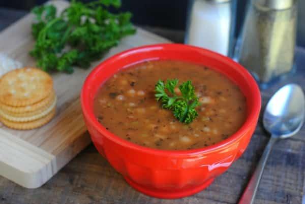 Friendship Bean Soup Mason Jar Gift 2