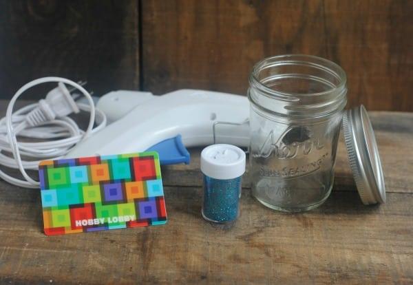 12 Days of DIY Gifts in a Jar: Snow Globe Gift Card Mason Jar Gift 1