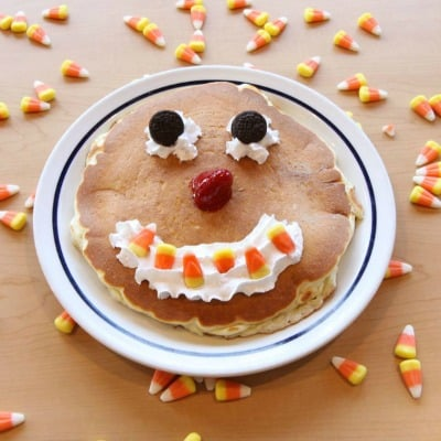 IHOP: FREE Scary Face Pancakes for Kids on Halloween