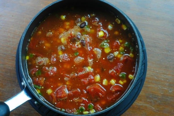 Healthy Frozen Meals: Mexican Quinoa 1