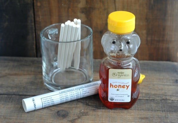Honey Flavored Homemade Cough Lollipops 1