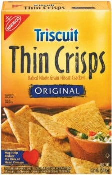 Triscuit Thin Crisps to promote this week's Kroger FREE Friday download