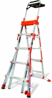 Amazon: The Little Giant Select Step 5-Feet to 8-Feet 300-Pound Duty Rating Adjustable Step Ladder Only $168.00 Shipped (Regularly $298.00) - Today Only!