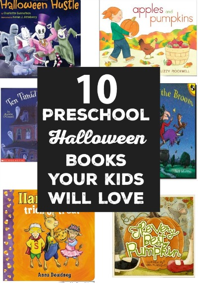 10 Preschool Halloween Books Your Kids Will Love -  Get your child in the Halloween spirit by exploring these preschool Halloween books. Your little monster will have a blast reading about ghosts, witches, pumpkins, trick or treating and more.