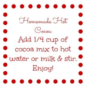 Print the gift tag here and attach it and the tablespoon (if ...