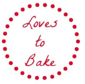 Loves to Bake Mason Jar Gift Tag