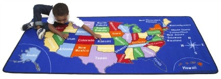 Today's Amazon Lighting Deals - Tuesday, November 11, 2014 - Learning Carpets US Map