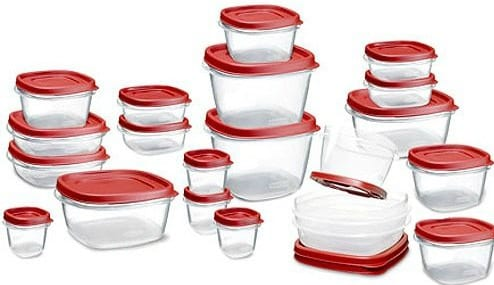 Amazon: Rubbermaid 42-Piece Easy Find Lid Food Storage Set Only $14.99 (Regularly $26.99) - Today Only