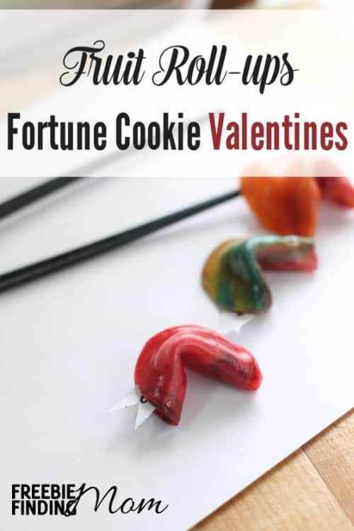 "Fruit Roll-Ups Fortune Cookie Valentines - What a creative, delicious and inexpensive way to wish someone special Happy Valentine's Day! This step-by-step tutorial will show you how easy it is to make Fruit Roll-Ups Fortune Cookie Valentines. Within minutes you'll have a ""sweet"" way to send a thoughtful message. These little cuties are perfect for spouses, friends, and kids. I love the idea of throwing them in the kids' school box lunches!"
