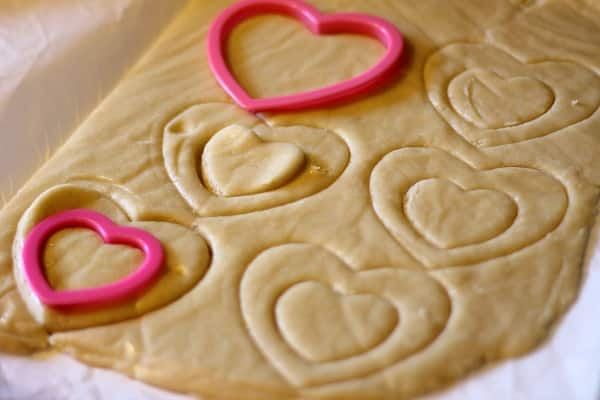 Heart Valentine Cookies: Heart Shaped Stained Glass Window Cookies 4