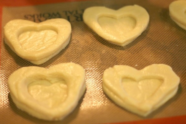 Heart Valentine Cookies: Heart Shaped Stained Glass Window Cookies 5
