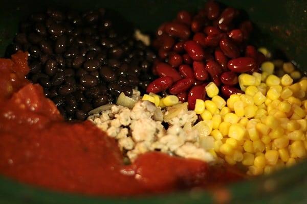 Easy Crockpot Chili Recipe: Crockpot Turkey Chili 2