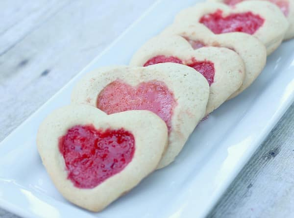Heart Valentine Cookies: Heart Shaped Stained Glass Window Cookies 8
