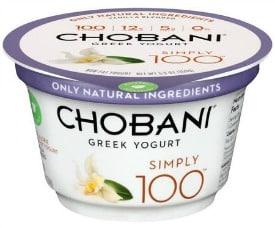 Chobani Simply 100 Greek Yogurt to promote this week's Kroger free Friday download