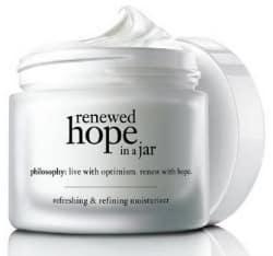 Freebie: FREE Philosophy Renewed Hope in a Jar Sample
