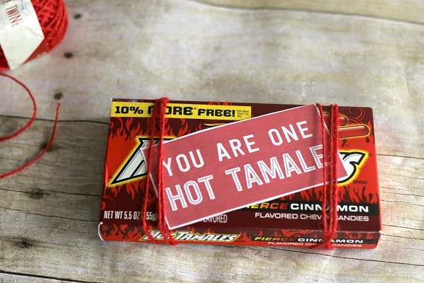 Valentine's Day DIY Gifts: You Are One Hot Tamale Gift 3