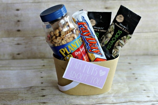 Valentine's Day DIY Gifts: I Am Nuts About You Gift 1