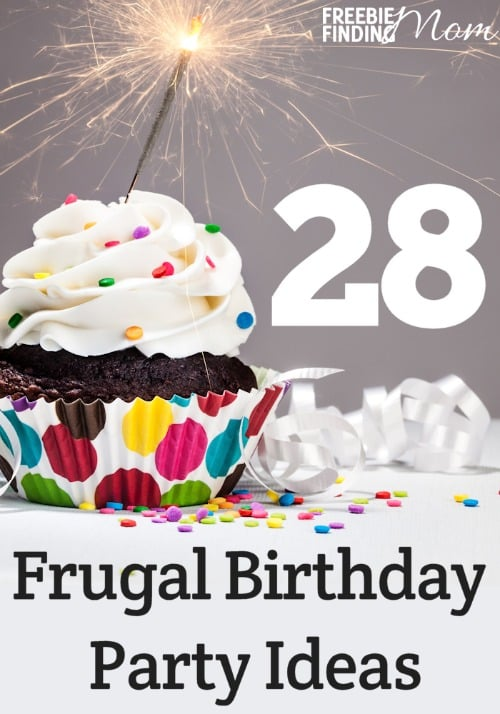 Want to throw a rockin' birthday party but money is tight? No problem, with these 28 frugal birthday party ideas which covers everything from the party theme venue, food, party favors, dishes, decorations, flowers, gifts, invitations, games and activities, and entertainment, you'll be able to impress your guests while keeping your wallet in mind. Find out how you can throw a fabulous party on a budget.