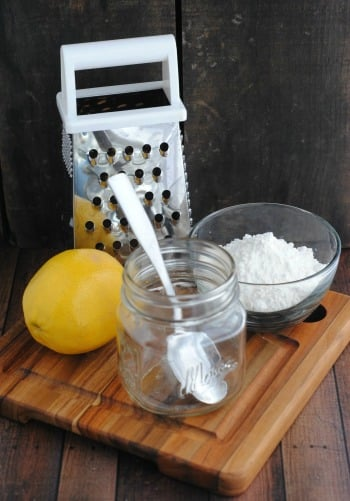 Lemon Cake in a Jar Recipe 1