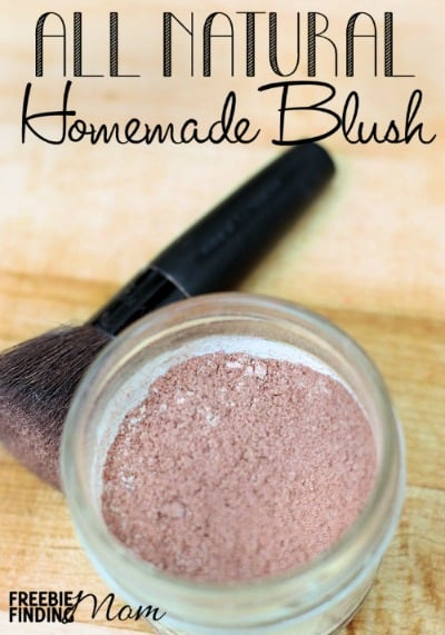 DIY mineral makeup to promote making homemade beauty products