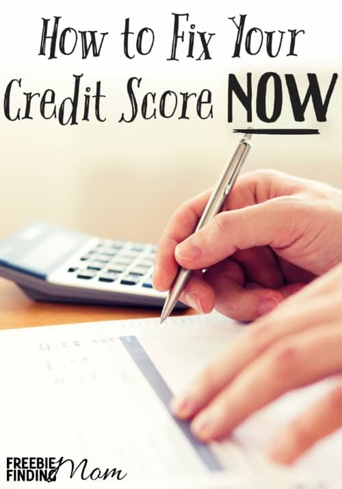 How Can I Fix My Credit Score Now Here Are 6 Tips