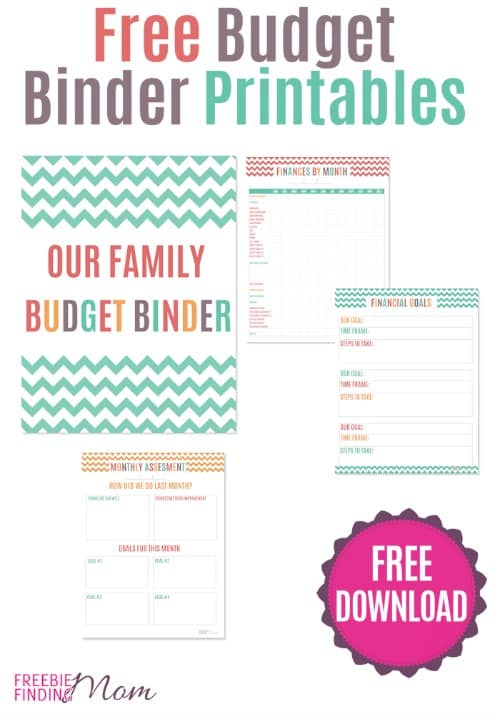 photograph about Free Binder Printables identify Cost-free Printable Spending budget Binder Arrange Your Spouse and children Spending plan