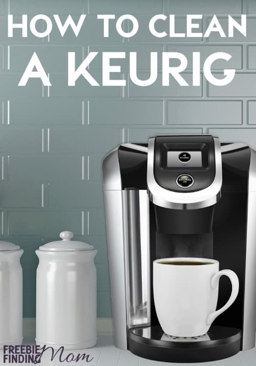 how to descale a keurig with common household items