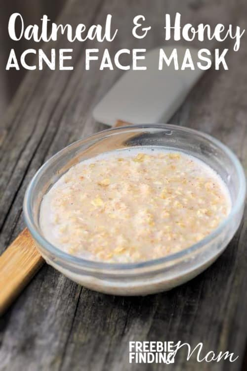 Homemade Acne Face Mask: Oatmeal and Honey Acne Face Mask
