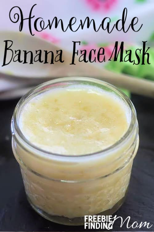 Homemade Banana Face Mask