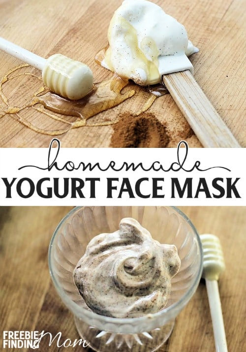 Homemade Yogurt Face Mask