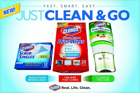 Clorox Real Life Cleaning (required)