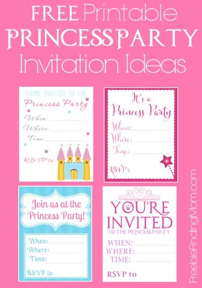 picture relating to Printable Princess Invitations identified as Cost-free Printable Princess Occasion Invites - Very seriously Cute!