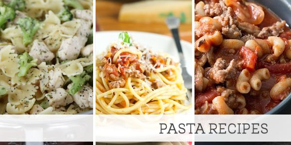 Cheap Meals for Large Families Pasta Recipes
