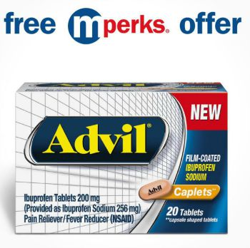 Advil to promote this week's free Meijer mPerks coupon