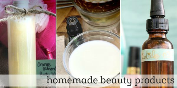 Homemade essential oil recipes for beauty products