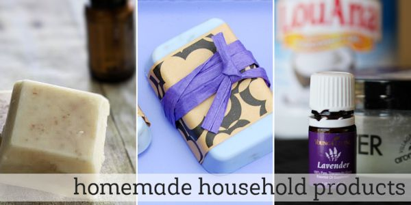 Homemade essential oil recipes for household products