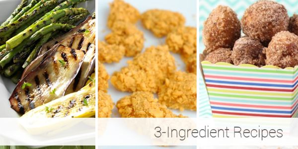 3-Ingredient Recipes