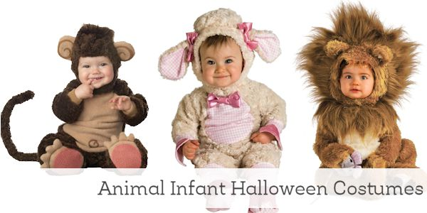 Animal Infant Halloween Costumes