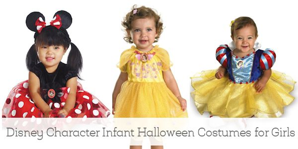 Disney Character Infant Halloween Costumes for Girls