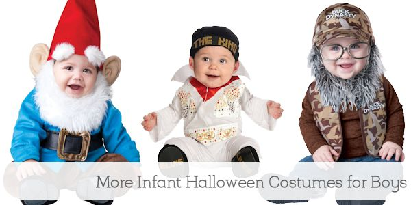 More Infant Halloween Costumes for Boys