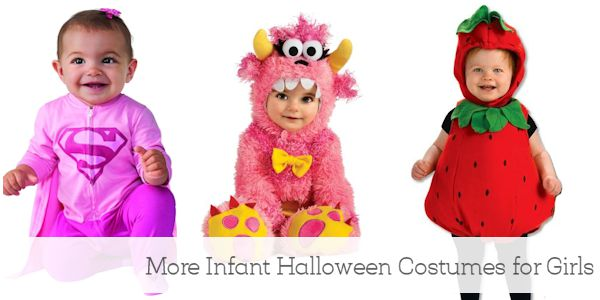 More Infant Halloween Costumes for Girls