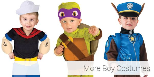 More Toddler Halloween Costumes for Boys