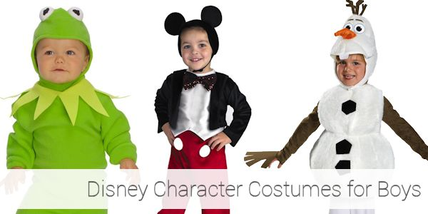 Disney Character Toddler Halloween Costumes for Boys