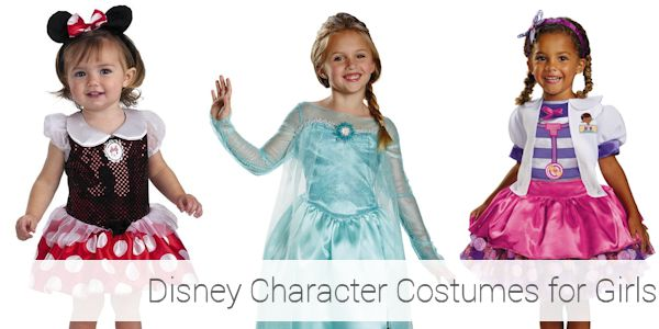 Disney Character Toddler Halloween Costumes for Girls