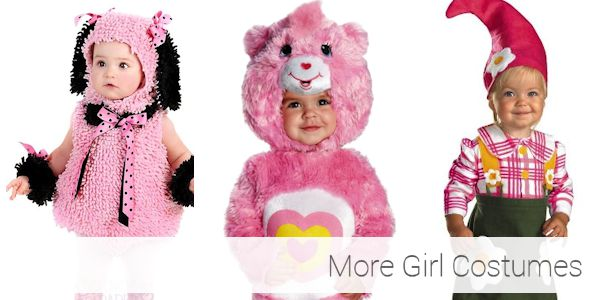 More Toddler Halloween Costumes for Girls