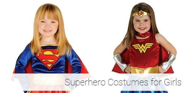 Superhero Toddler Halloween Costumes for Girls