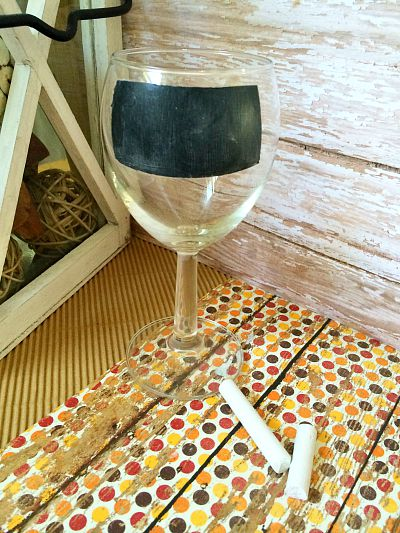 How to Paint Wine Glasses 4