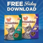 Kroger FREE Friday Download of One Meow Mix Irresistibles Cat Treats (October 16 Only)