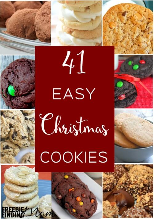 Need new Christmas cookie inspiration? Here you'll discover 41 incredibly delicious yet easy Christmas cookies to make that are guaranteed to impress your family, friends and coworkers.