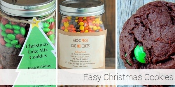 Easy Christmas Cookies 1-6